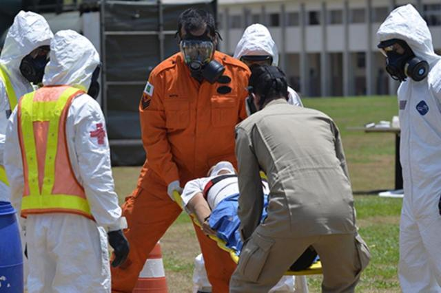 Brasil faz treinos antiterror para Olimpíadas 2016 Gilberto Alves/Ministério da Defesa