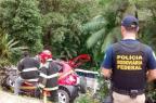 Acidente com ônibus deixa cinco mortos e pelo menos 21 feridos em Corupá, no Norte de Santa Catarina  Divulgação/PRF