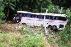 Motorista do ônibus envolvido em acidente em Corupá está internado em estado grave Leo Munhoz/Agencia RBS