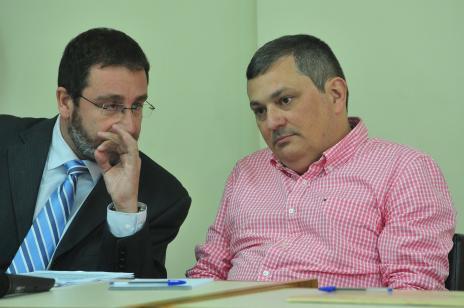 Mauro Hoffman aparece pela primeira vez em uma audiência do caso Kiss (Jean Pimentel/Agência RBS)