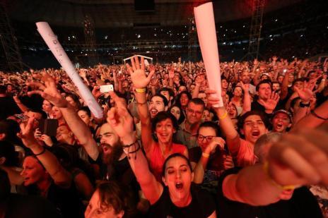 Nova safra de grandes shows reacende debate sobre as áreas VIP (Bruno Alencastro/Agencia RBS)