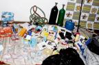 Quatro chilenos são presos por furtos em lojas de três cidades da Região Central Anderson Vargas/Jornal do Garcia Online