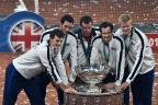 Murray vence e leva a Grã-Bretanha ao título da Copa Davis após 79 anos PHILIPPE HUGUEN / AFP/