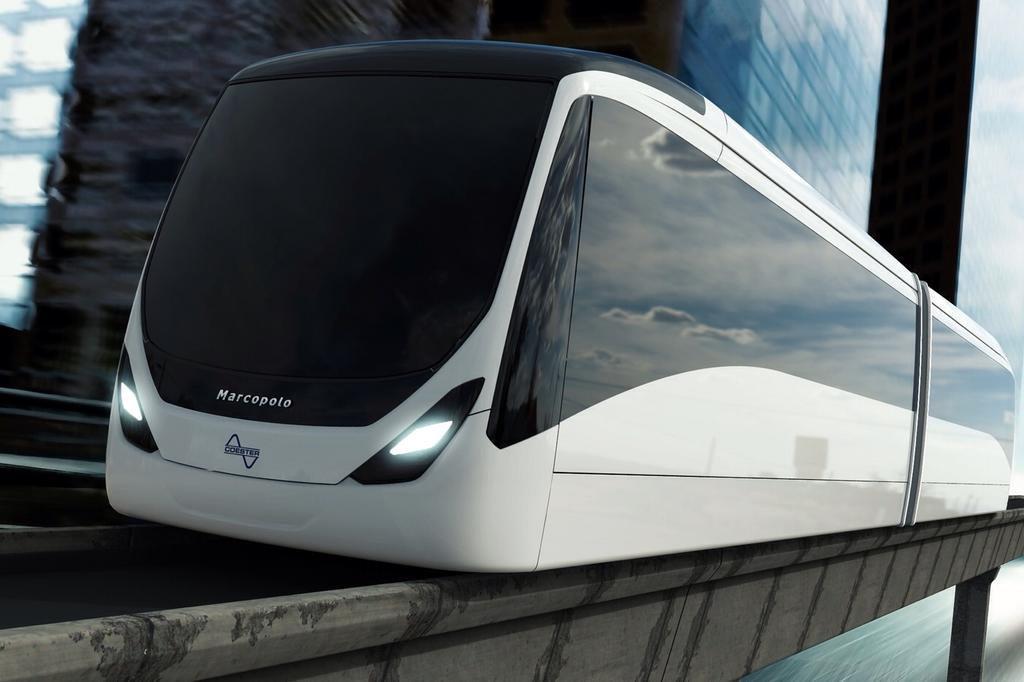 Trensurb aposenta projetos de criação de novas linhas do Aeromóvel Marcopolo/Coester/Divulgação