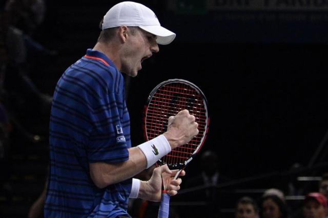 Isner vence Cilic e alcança primeira semifinal em Masters no saibro MIGUEL MEDINA/AFP