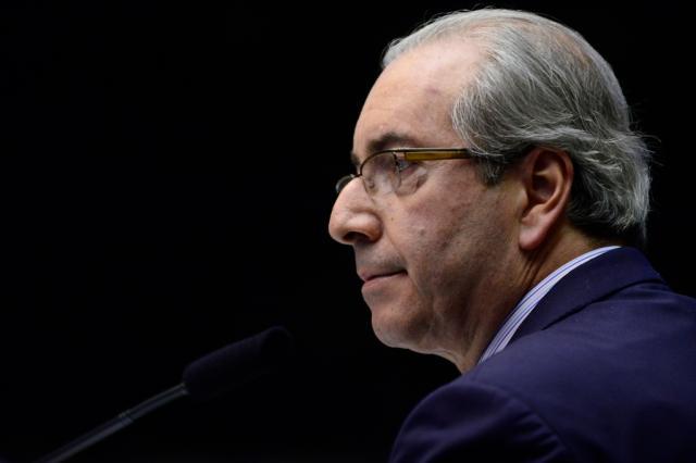"""Em redes sociais, Cunha diz que atendeu ao """"pedido das ruas"""" Gustavo Lima/Câmara dos Deputados"""