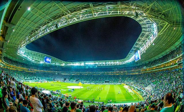 Apesar de Palmeiras misto, Grêmio deve encarar Allianz Parque lotado Divulgação/Sociedade Esportiva Palmeiras