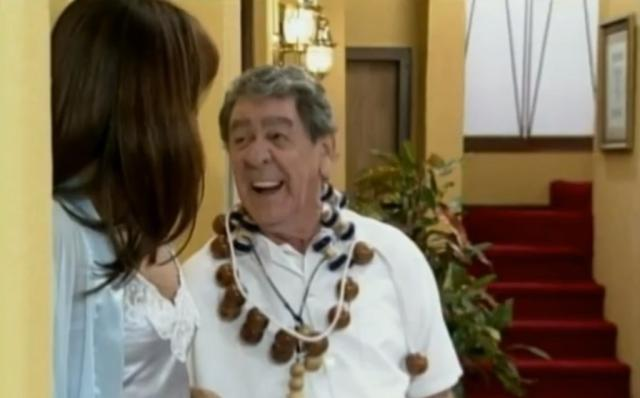 Morre comediante Tutuca, aos 83 anos TV Globo/Reprodução