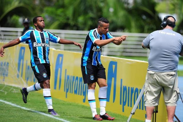 """Com três gols em estreia na Copa Sub-20, """"Batigol"""" é a nova aposta do Grêmio Fernando Gomes/Agencia RBS"""