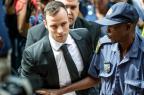 Justiça sul-africana rejeita apelação contra pena de Oscar Pistorius Mujahid Safodien/AFP