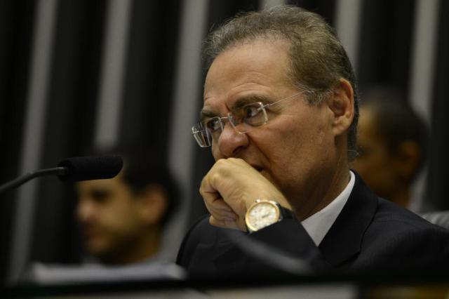 Renan ignora perguntas sobre prisão de Eduardo Cunha Valter Campanato/Agência Brasil