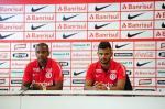 Fabinho e Fernando Bob são apresentados no Inter