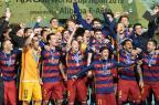 """""""Só minha mulher e Guardiola podem me tirar do Barça"""", afirma Busquets Kazuhiro Nogi/AFP"""