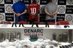 Denarc derruba ponto de tráfico com 15kg de drogas em Viamão Divulgação/Polícia Civil