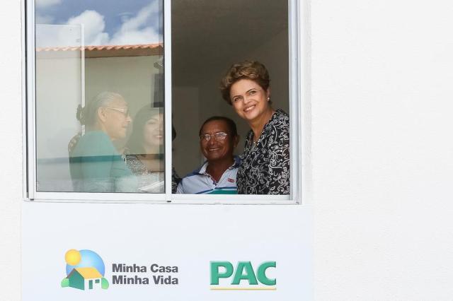 """""""A gente pode até dar uma envergadinha, mas não quebra"""", diz Dilma Roberto Stuckert Filho/Presidência da República/Divulgação"""