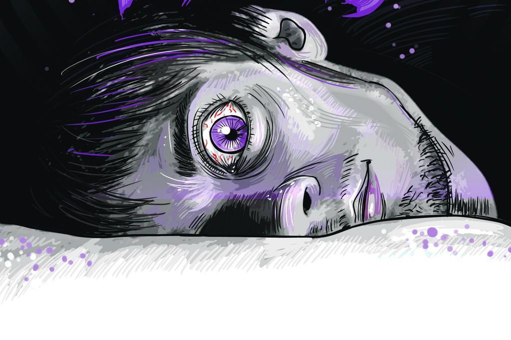 Distúrbios do sono podem causar situações desconfortáveis, perigosas e até assustadoras Gonza Rodrigues/Arte ZH