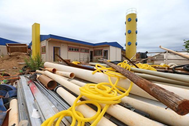 Três meses após anúncio, governo federal retomou 20% das obras paradas no RS Júlio Cordeiro/Agencia RBS