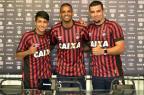 Atlético-PR apresenta André Lima e Anderson Lopes Gustavo Oliveira/Atlético-PR