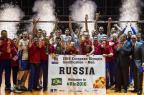 Seleção masculina de vôlei da Rússia está classificada para a Olimpíada John MACDOUGALL/AFP
