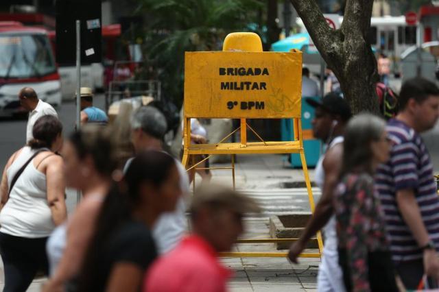 Falta de tudo um pouco na segurança pública, admitem autoridades Diego Vara/Agencia RBS