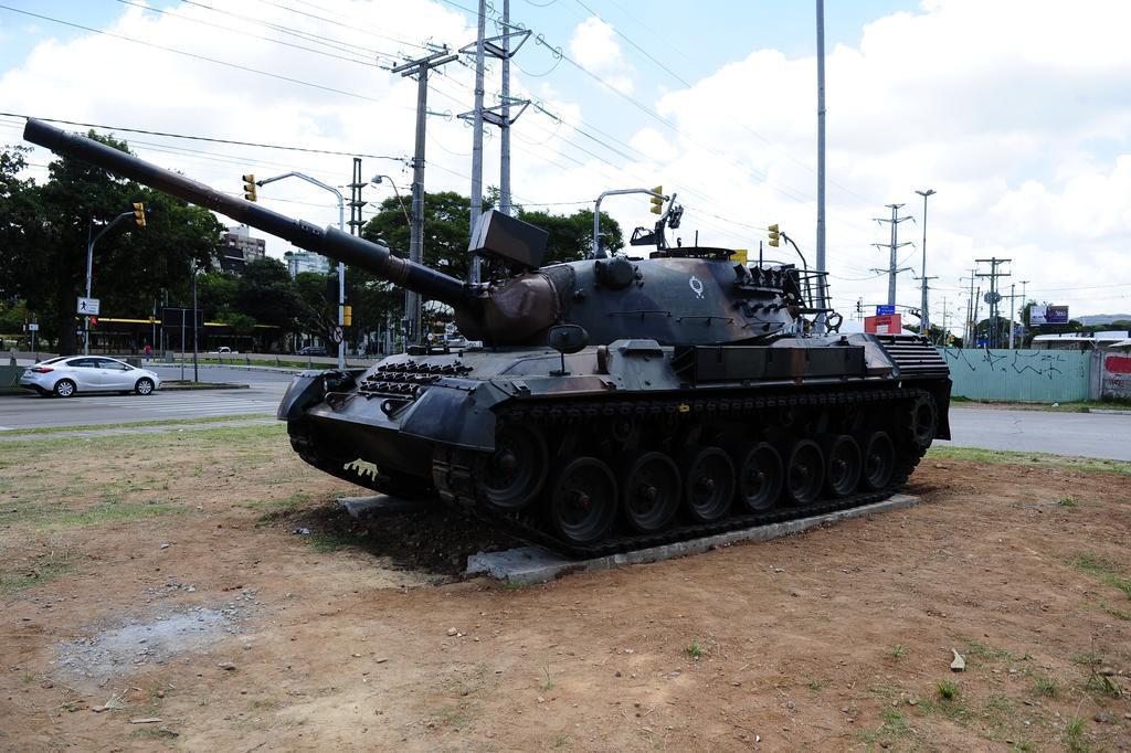 Tanque desativado será novo monumento de Porto Alegre Ronaldo Bernardi/Agencia RBS