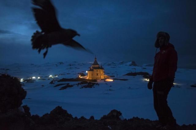 Países correm para garantir maior influência sobre a Antártica Daniel Berehulak/The New York Times