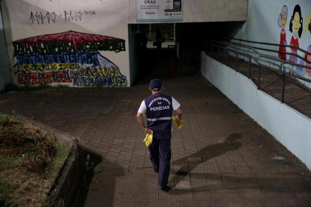 Jovem é morto a tiros noCentro Comunitário George Black André Ávila/Agencia RBS