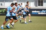 Treino do Grêmio desta segunda-feira (18/01/2016)