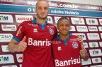 Zagueiro Ícaro e atacante Clebinho são apresentados pelo Caxias Rafael Tomé/Divulgação
