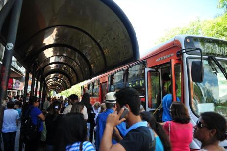 Sem reajuste da tarifa de ônibus, empresas preveem demissões em Santa Maria (Ronald Mendes/Agencia RBS)