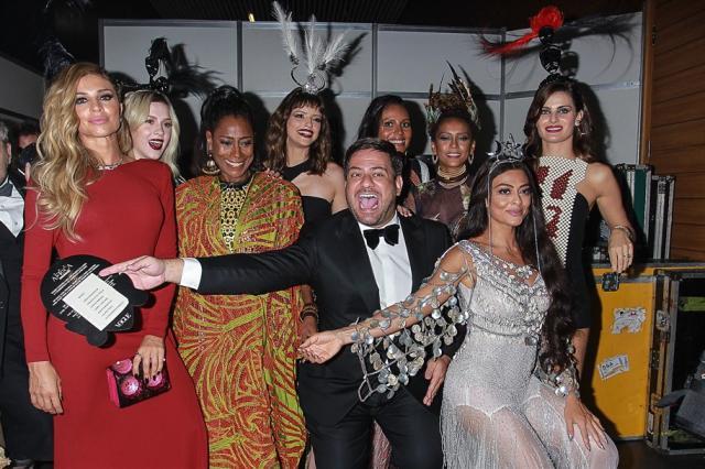 Veja como foi o Baile de Gala e Fantasia da Vogue, em São Paulo Leo Franco / AGNEWS/AGNEWS