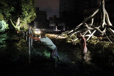 Prejuízo causado pela tempestade já chega a R$ 30 milhões (André Ávila/Agência RBS)