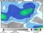 Noite de sábado deve ter novo temporal, mas sem ventos fortes Reprodução / Somar Metereologia/Somar Metereologia