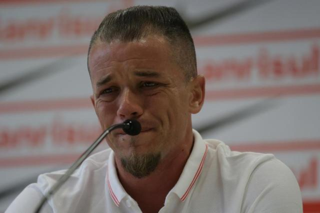 Inter confirma saída, e D'Alessandro chora em coletiva de despedida Lauro Alves/Agencia RBS