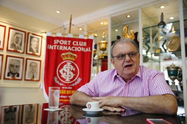 Vitorio Piffero é internado na unidade de cardiologia da Santa Casa, em Porto Alegre Félix Zucco/Agencia RBS