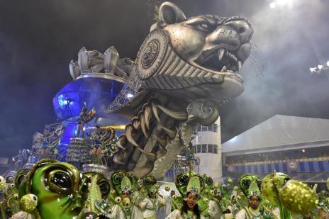 Império de Casa Verde é a vencedora do Carnaval de São Paulo (Nelson Almeida/AFP)