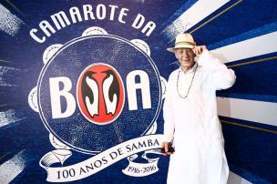 Astro de X-Men se prepara para curtir Carnaval na Sapucaí Divulgação / CamaroteBoa/CamaroteBoa