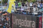 """Trá, trá, trá: dona do hit """"Metralhadora"""", Vingadora comanda bloco na Bahia Wallace Barbosa e JC Pereira/AgNews"""