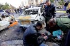Atentado com carro-bomba mata pelo menos oito pessoas na Síria LOUAI BESHARA/AFP