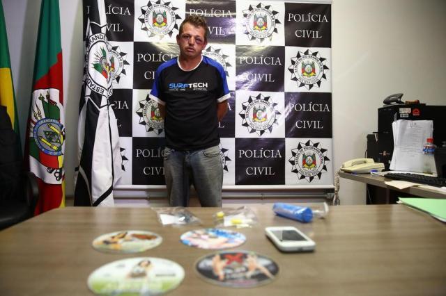Suspeito de violentar menina foi indiciado por atentado violento ao pudor em 2004 Carlos Macedo/Agencia RBS