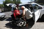 Com ambulância estragada, pacientes são transportados no improviso em Alvorada (Adriana Franciosi/Agencia RBS)