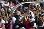 Papa visita o México