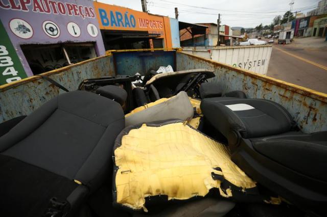 Segurança pública faz ofensiva contra desmanches em Porto Alegre Carlos Macedo/Agencia RBS