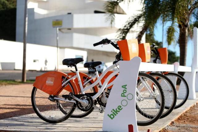 EPTC vai multar empresa de aluguel de bicicletas em Porto Alegre Bruno Alencastro/Agencia RBS