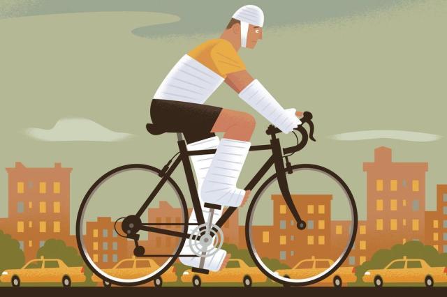 Conheça os riscos da bicicleta e saiba como evitá-los Paul Rogers/The New York Times