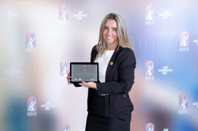 Empresária da região é destaque no Prêmio Sebrae Mulher de Negócios Divulgação/Arquivo Sebrae
