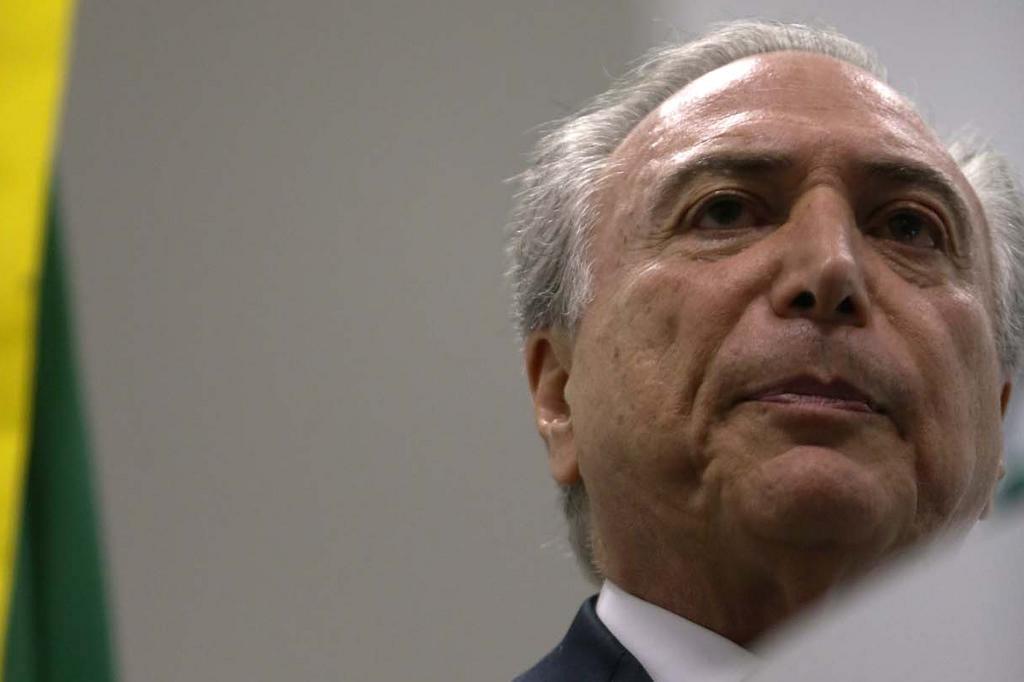 Delator diz que Temer participou de reunião em que se cobrou propina de US$ 40 milhões