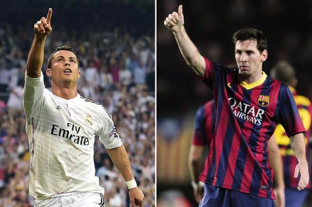Rivalidade entre Messi e Ronaldo é destaque no clássico espanhol GERARD JULIEN,PATRIK STOLLARZ,JOSEP LAGO/AFP