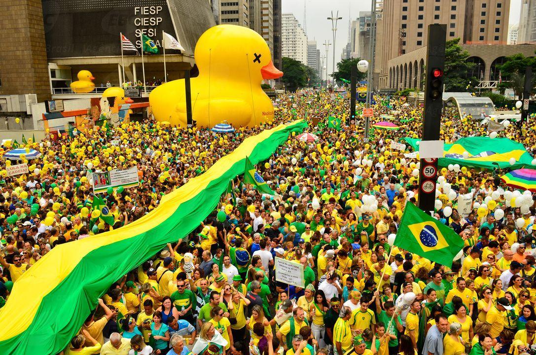 Com mais de 3 milhões nas ruas, domingo teve maior protesto contra governo Dilma Agência Brasil/Divulgação