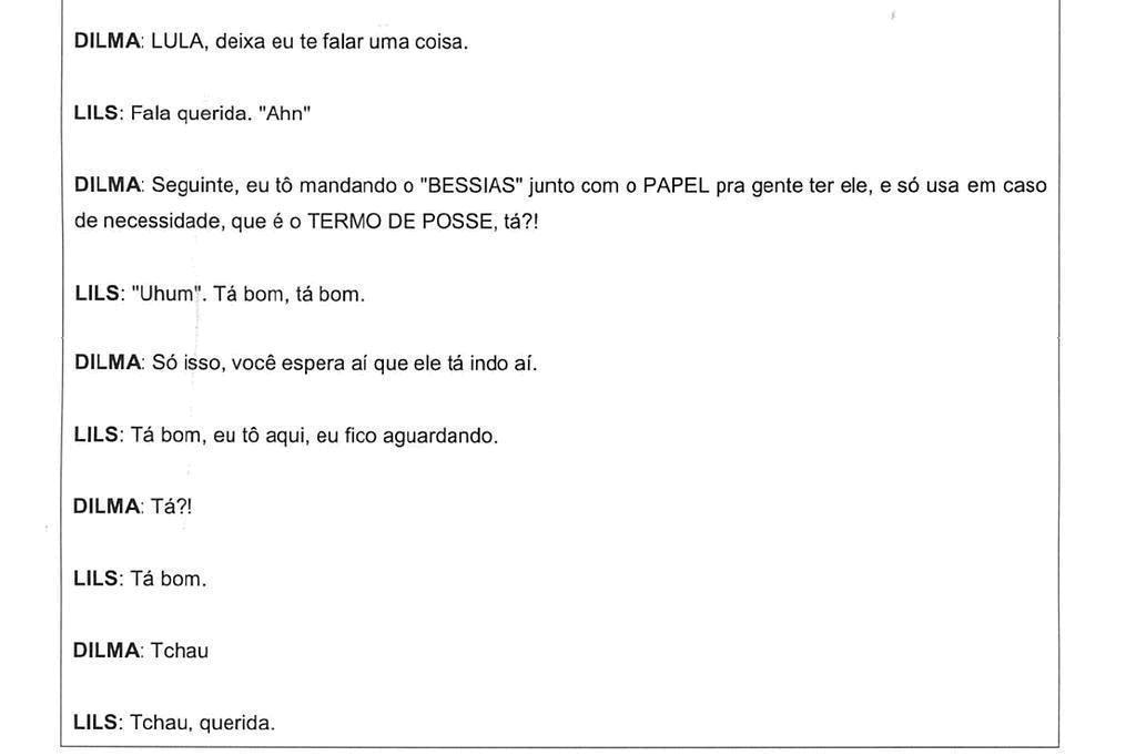 Legalidade de áudios de Dilma divulgados por Moro divide juristas /Reprodução